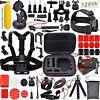 31-in-1 Accessories Kit Essential GoPro Hero 5/4/3/2/1 Session Hero Bundle Black