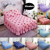 Floral Dust Ruffle Bed Skirt Bed Cover Bedspread Or Pillowcases Twin Queen Size