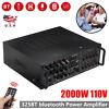2000W Audio Power Amplifier 2Ch Power AMP EQ Home Stereo Mini Amplifier hot