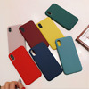 Case For Apple iPhone XS XR X 8 7 6S 6 Plus Luxury Ultra Slim Silicone Cover CA