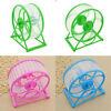 Hamster Wheel Running Pet Exercise Toy Plastic Scroll Silent Mouse Rat Gerbil
