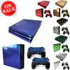PS4 Decal Skin Glossy Fibre Console Controller Sticker For Sony Play-station 4