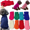 US Pet Coat Dog Jacket Spring Clothes Puppy Cat Sweater Coat Clothing Apparel