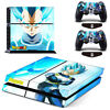 Dragon Ball Vegeta Vinyl Cover Skin Stickers for PS4 Console 2 Controllers