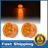 2Pcs X Round Clearance Side Marker Lights 2
