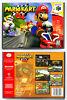 Mario Kart 64 - Nintendo 64 N64 Horizontal Case *NO GAME*