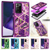 For Samsung Note 20/Note 10/Note 9/8 Marble Shockproof Heavy Phone Case Cover