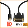 High Speed Mini DisplayPort DP to DVI Male Cable Adapter Converter Gold-Plated
