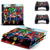 PlayStation 4 PS4 Console Sticker Marvels The Avengers Skin Controller Decal