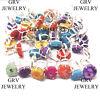 15pcs Rings Lot Solar Quartz Gemstones Jewellery 925 Sterling Silver Overlay