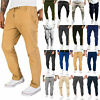 Mens Cargo Harem Pants Jogger Sports Gym Sweatpant Slim Combat Trousers Bottoms