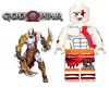 NEW SPECIAL ADDITION GOD OF WAR KRATOS PLAY WITH LEGO MINIFIGURE USA SELLER