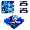 PS4 Slim Console Controllers Vinyl Skin Stickers Decals Cover Sonic the Hedgehog