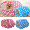 Cotton Hamster Cage Guinea Pig Sleeping Mat Bed Warm Pad Small Animal House