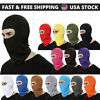 Outdoor Ski Motorcycle Cycling Balaclava Lycra Full Face Mask Neck Ultra Thin