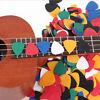 100PCS ABS Acoustic Ukulele Bass Electric Guitar Picks Plectrums Accessories_lp
