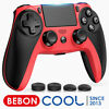 Wireless PS4 Controller Replace For Playstation 4 PS4 Slim Pro Controller (RED)