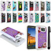 For Samsung Galaxy S7 ACTIVE G891 Studded Sparkle HYBRID Case Phone Cover + Pen