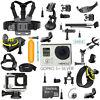 GoPro HERO3+ Silver Edition Camcorder CHDHN-302 + 40 PCS Accessory+ 8G SD Card
