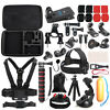 GoPro Hero 7/6/5/4/3/2/1 Essential Accessories Kit Hero Session Camera Set Black