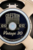 CELESTION Vintage 16 ohm Guitar amp cabinet Speaker Used/Very Good Condition