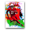 Patrick Peterson #2 Sketch Card Limited 12/25 Edward Vela Signed