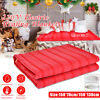 Rapid Heating Electric Heated Flannel Blanket Cover Heater W/ Controller 220V