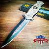 Spring Assisted Blades Tactical Folding Knife Steel Handle Pocket Knives Hunting
