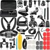 GoPro Accessories Set 58 in 1 for Go Pro Hero 8 7 6 5 4 Black Mount for Gopro