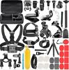 GoPro Accessories Set 58 in1 for Go Pro Hero 8 7 6 5 4 Black Mount FROM US STOCK