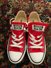 Converse All Star Red Low Top Sneaker Shoes M9696 Unisex Sizes Men 5 Women 7