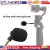 Mini Microphone 3.5mm Jack Mic for Mobile Phone Laptop PC (3 Pole AUX)