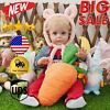 20'' Sleeping Full Vinyl Silicone Reborn Realistic Baby Soft Vinyl Body Doll US