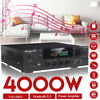 4000W HiFi bluetooth 5.0 Power Amplifier Stereo Home Audio 2 Channel FM SD AMP