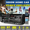 5000W bluetooth HiFi Power Amplifier Audio 2 Channel Car Home Stereo Audio Amp