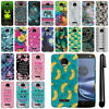 For Motorola Moto Z Force Droid Edition Slim HARD Back Case Phone Cover + Pen