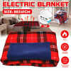 Electric Heated Winter Warm Blanket Cover Car Office Use Heater 5V USB Throws
