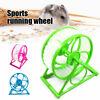 Hamster Running Wheel Exercise Scroll Silent Hamster Mouse Rat Gerbil Pet Toy
