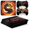 PS4 PRO Console & 2 Controllers Dragon Decal Vinyl Cover Skin Sticker
