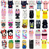 3D Cartoon Silicone Rubber Soft Case Cover Skin For iPhone 5S 7/8 iPod Touch 6/5
