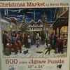 Christmas Market by Kevin Walsh 500 piece Jigsaw Puzzle