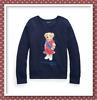 NWT Polo Ralph Lauren Big Girls Polo Bear Fleece Sweatshirt 7,8-10,12-14,16