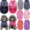 US Small Dog Clothes Pet Winter Cotton Sweater Puppy Clothing Warm Apparel Coat