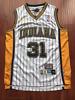 Indiana Pacers Reggie Miller Basketball Jersey Throwback Swingman #31 White