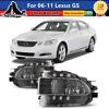 Fog Lights For 06-11 Lexus GS 300/350/430/450h/460 Lamp Assembly Clear Lens set